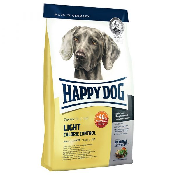 12.5kg Happy Dog Supreme Fit & Well Light - Calorie Control Dry Dog Food