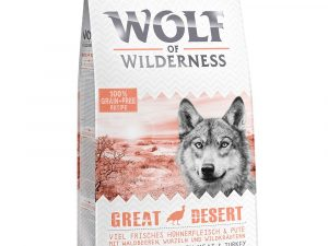 12kg Wolf of Wilderness Dry Dog Food - £10 Off!* - Adult Soft