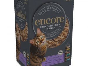 20x50g Chicken Selection Multipack Cat Jelly Pouch Encore Wet Cat Food