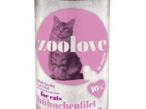 24x140g Chicken Saver Pack zoolove Wet Cat Food