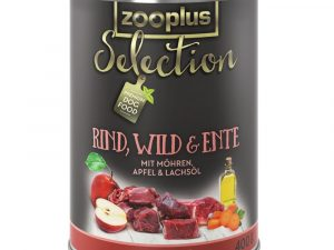 24x400g Adult Beef, Pheasant & Goose Saver Pack zooplus Selection Wet Dog Food