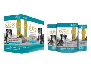 24x400g Mixed (3 flavours) Pack Burns Penlan Farm Pouches Wet Dog Food