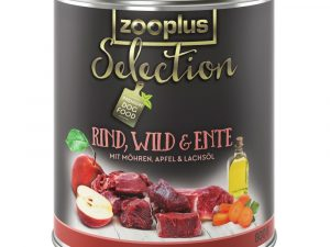 24x400g Saver Pack Adult Beef, Venison & Duck zooplus Selection Wet Dog Food