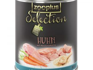 24x400g Saver Pack Adult Sensitive Chicken&Rice zooplus Selection Wet Dog Food