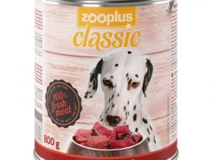 24x800g Saver Pack Beef zooplus Classic Wet Dog Food