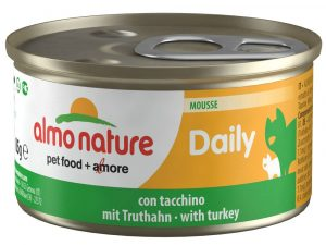 24x85g Chunks with Trout Almo Nature Daily Menu Wet Cat Food