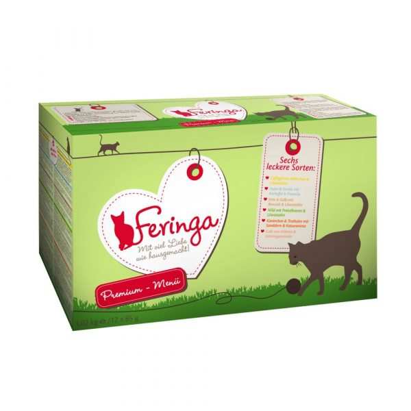 24x85g Mixed Pack II Pouches Feringa Wet Cat Food - Feringa cat food is a species