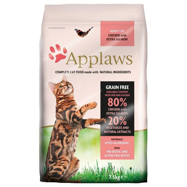 2kg Chicken & Salmon Applaws Dry Cat Food