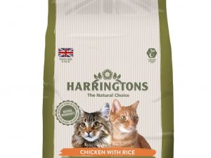 2kg Chicken with Rice Harringtons Dry Cat Food