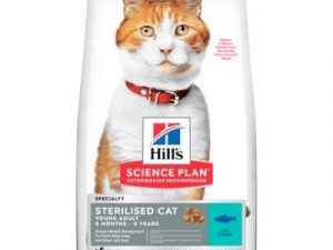 2x10kg Sterilised Young Adult Tuna Hill's Science Plan Dry Cat Food
