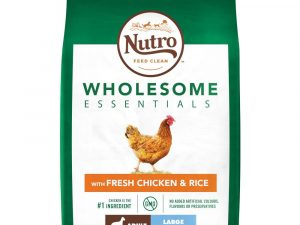 2x11kg Chicken & Rice Large Breed Adult Nutro Wholesome Essentials Dry Dog Food