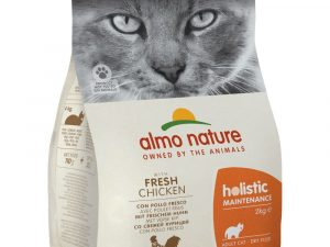 2x12kg Economy Pack Chicken & Rice Almo Nature Holistic Dry Cat Food