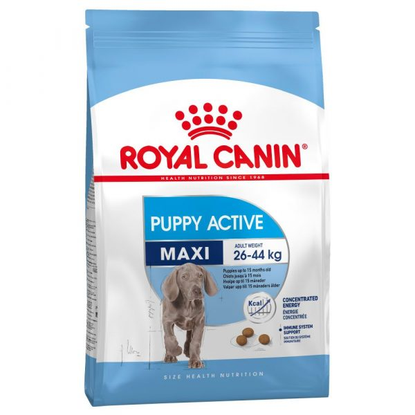 2x15kg Puppy Active Maxi Royal Canin Dry Dog Food