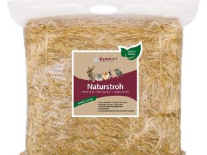 2x2.5kg Natural Straw