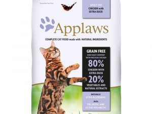 2x7.5kg Adult Chicken & Duck Applaws Dry Cat Food