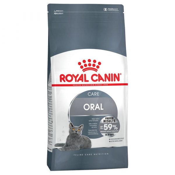 2x8kg Oral Care Royal Canin Economy Dry Cat Food