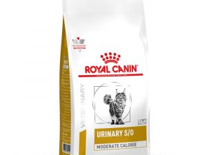 2x9kg Urinary S/O Moderate Calorie Royal Canin Vet Diet Dry Cat Food