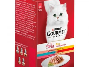 36 x 50g Gourmet Mon Petit Wet Cat Food - 24+ 12 Free!* - Poultry Mixed Pack (36 x 50g)