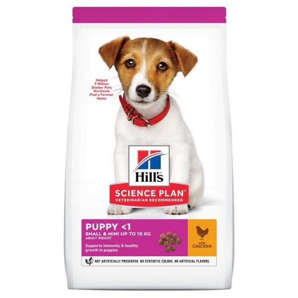 3kg Chicken Small & Mini Healthy Development Puppy Hill's Science Plan Dry Dog Food