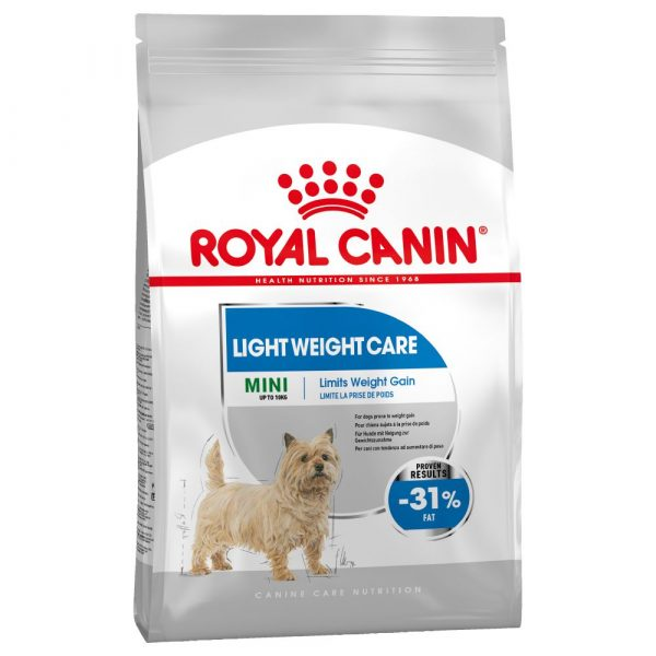 3kg Mini Light Weight Care Royal Canin Dry Dog Food