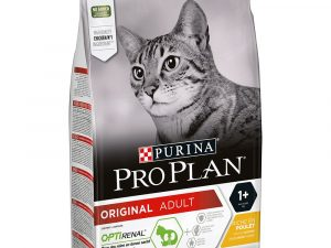 3kg Purina Pro Plan Dry Cat Food - 15% Off!* - Original Adult Cat Optirenal - Rich in Chicken