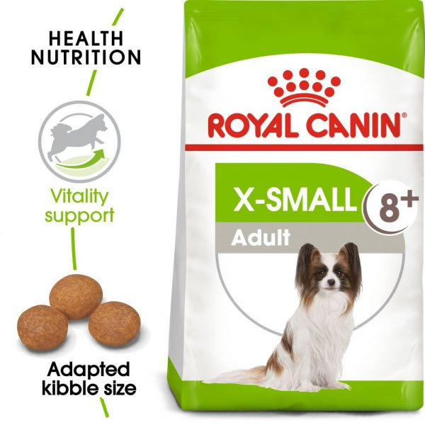 3kg X-Small Adult 8+ Royal Canin Dry Dog Food