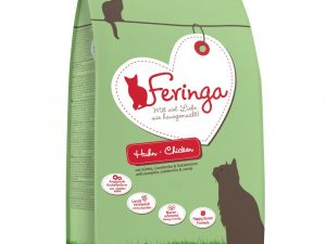 400g Feringa Dry Cat Food - Buy One, Get One Half Price!* - Chicken & Trout (2 x 400g)