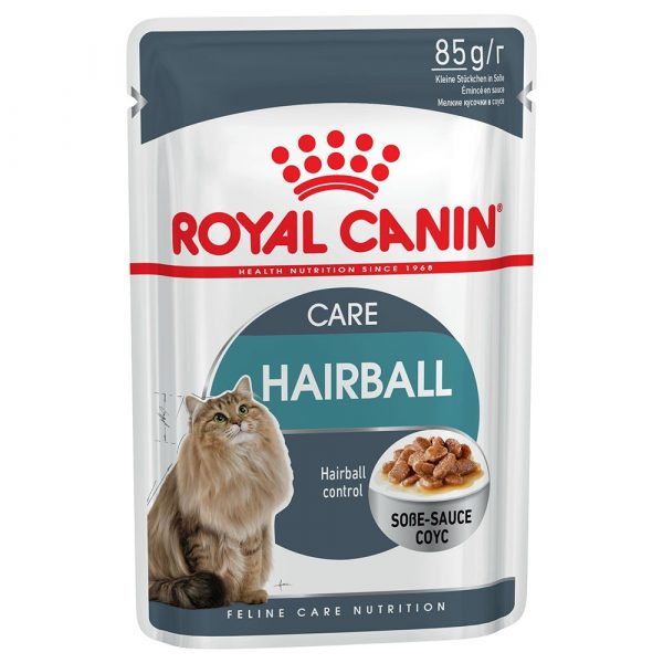 48x85g Hairball Care in Gravy Royal Canin Wet Cat Food