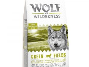 5kg Adult Green Fields Lamb Wolf of Wilderness Dry Dog Food