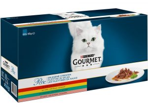 60x85g Ocean Collection Mixed Pack Gourmet Perle Pouches Wet Cat Food