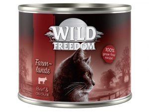 6x200g Mixed Pack Wild Freedom Wet Cat Food