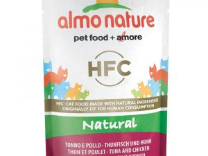 6x55g Tuna & Chicken Pouches Almo Nature Classic Wet Cat Food