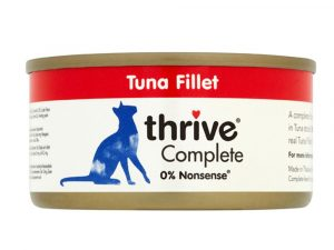 6x75g Tuna Fillet Thrive Complete Wet Cat Food