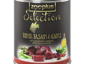6x800g Adult Beef, Pheasant & Goose zooplus Selection Dry Dog Food