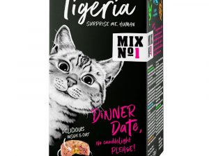 6x85g Beef with Tomato Tigeria Wet Cat Food