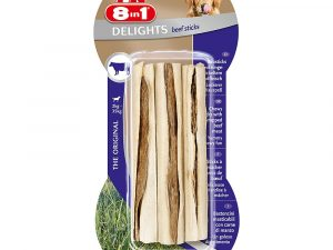 Beef 8in1 Delights Dog Chew Sticks