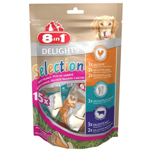 8in1 Delights Variety Pack Dog Treats