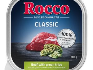 9x300g Beef, Poultry, Lamb Trays Rocco Menu Wet Dog Food