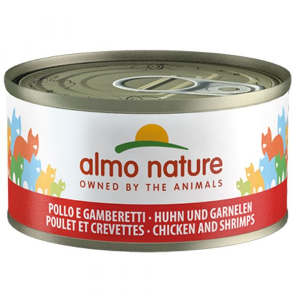 Almo Nature Legend Salmon Saver Pack Wet Cat Food