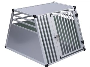 AluRide Dog Crate, Size S: 82x50x65cm (LxWxH)