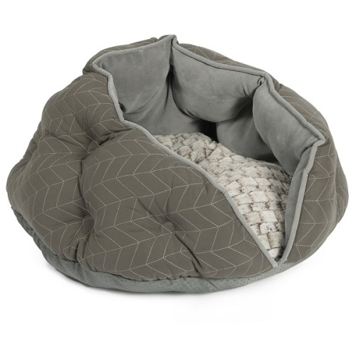 Ancol Cat Cove Bed Grey