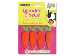 Ancol Just4Pets Carrot Nibbles & Carrot Cruncher