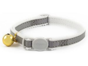 Ancol Safety Reflective Cat Collar Silver