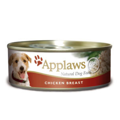 Applaws Chicken Breast Wet Can Adult Dog Food 156g x 6