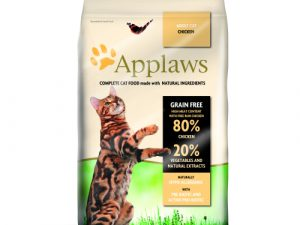 Applaws Chicken Dry Adult Cat Food 7.5kg x 2