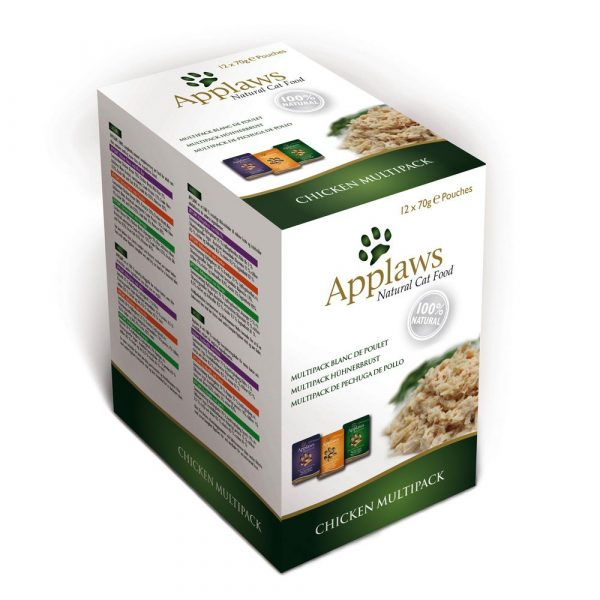 Applaws Chicken Selection Pouches Mixed Pack Wet Cat food