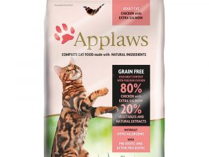 Chicken & Salmon Applaws Dry Cat Food