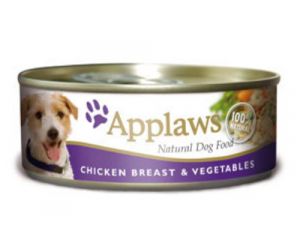 Applaws Chicken & Vegetables Wet Can Adult Dog Food 156g x 6