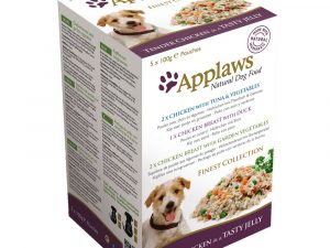 Finest Collection Mixed Multipack Applaws Wet Dog Food
