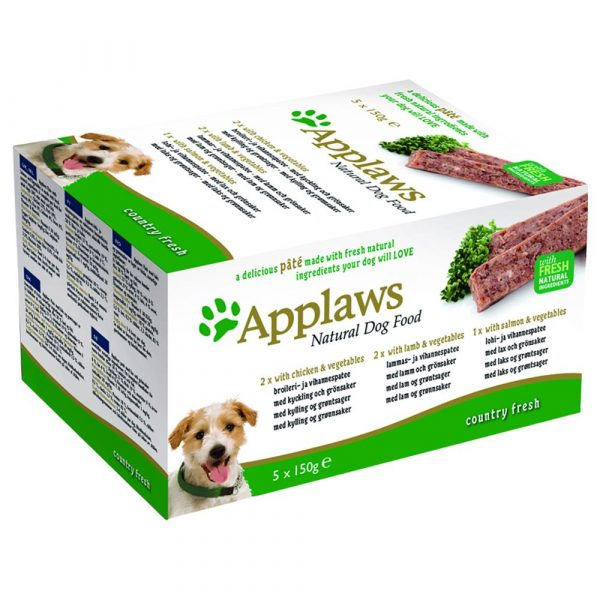 Applaws Pate Country Selection Wet Dog Food